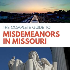 Missouri Misdemeanor 1 sec