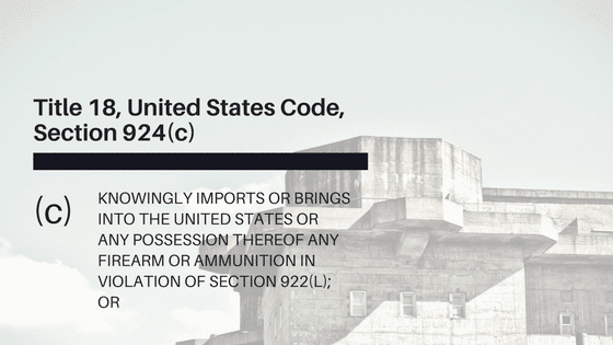 Title 18 United States Code Section 924c